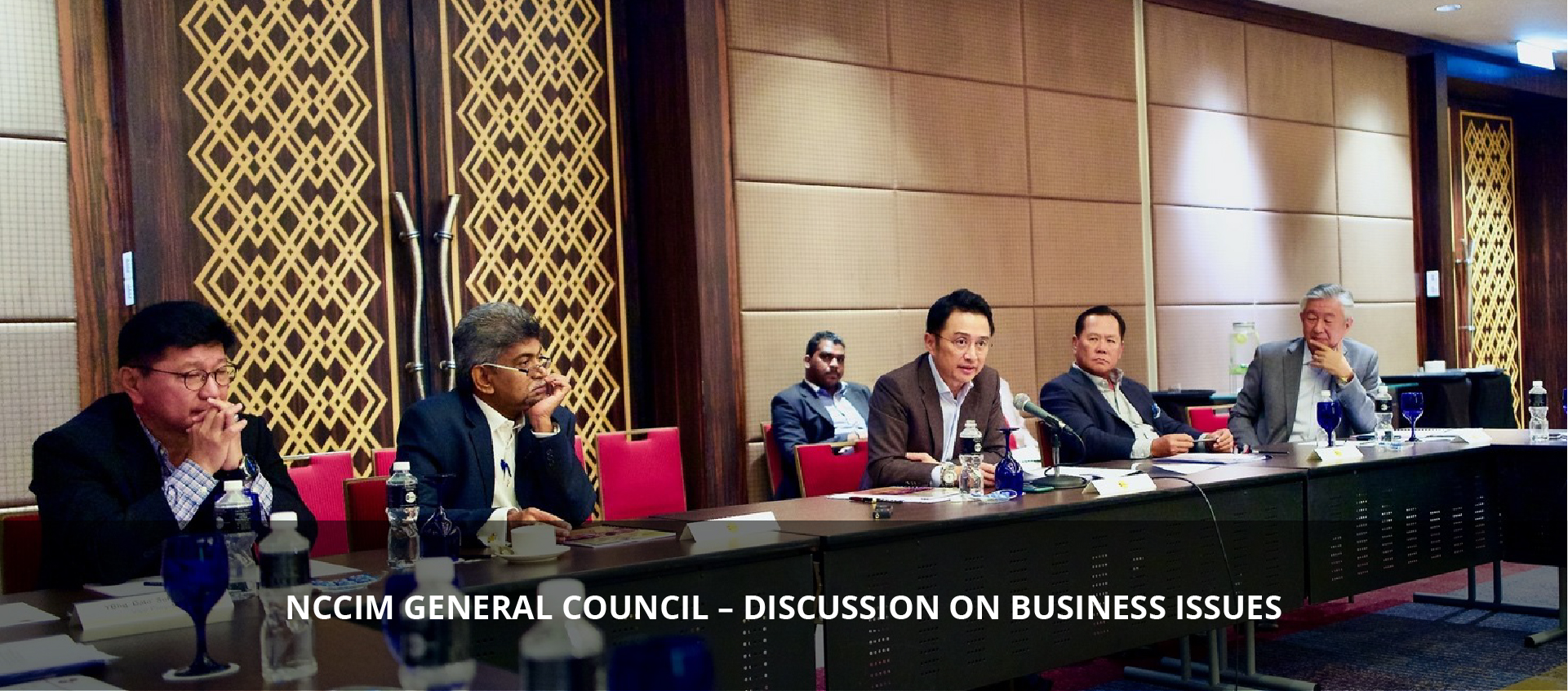 NCCIM GENERAL COUNCIL – DISCUSSION ON BUSINESS ISSUES